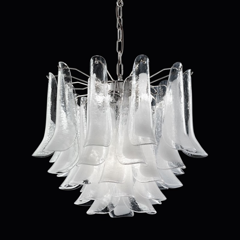 Tulip chandelier 4 lights italia for you the best of handmade tulip chandelier aloadofball Image collections
