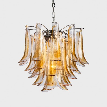 Tulip amber chandelier italia for you the best of handmade in tulip chandelier aloadofball Image collections