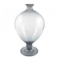 Veronese Grey Vase in Murano Glass
