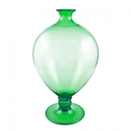 Veronese Green Vase In Murano Glass Italia For You The Best Of