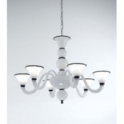 Canaletto Venetian Chandelier 6 Lights
